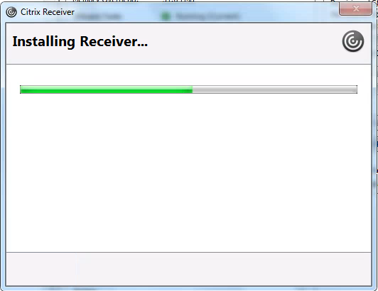 Waiting Receiver Install