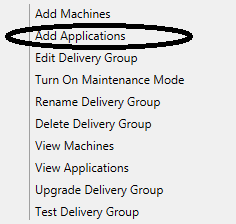 Add Applications