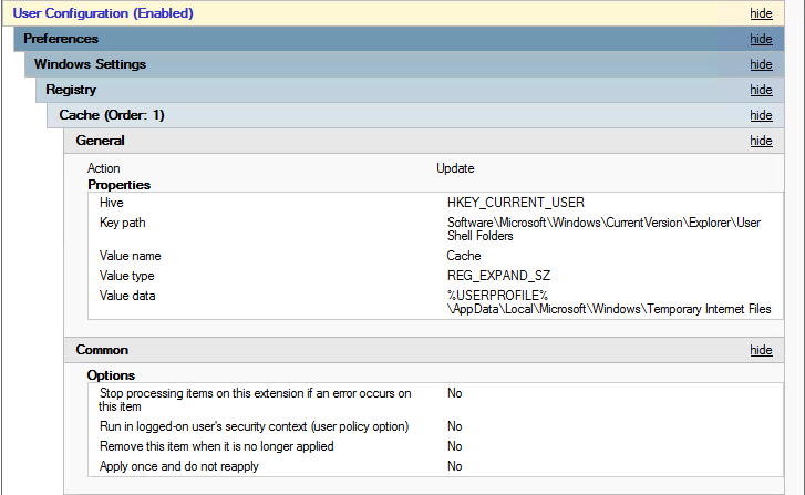 GPO Group Policy Preference Registry Setting For Office Work File