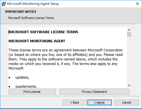 MOS User Agreement Step 2