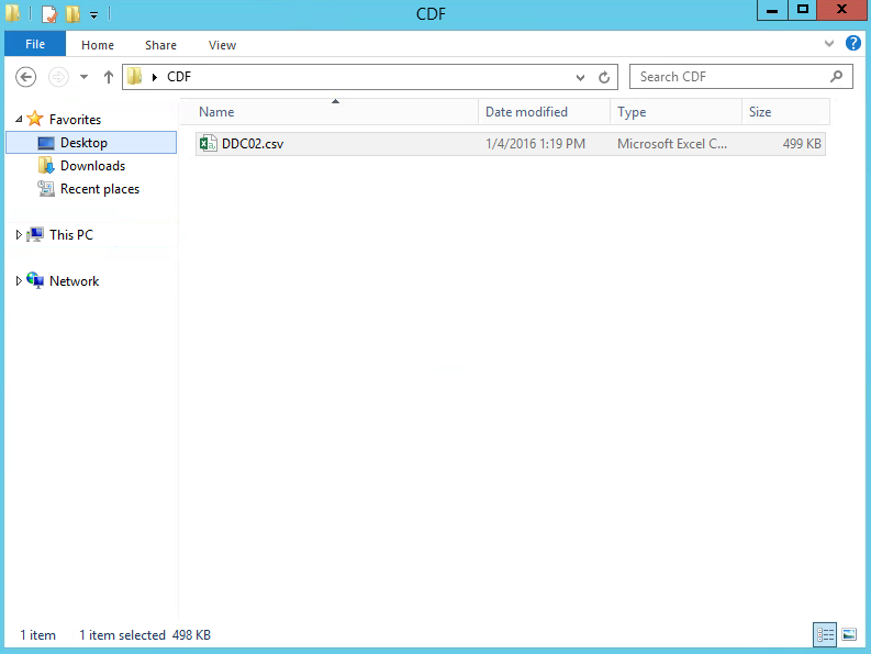 CDF_Open CSV File