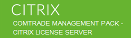 Comtrade Citrix License Server Management Pack Install