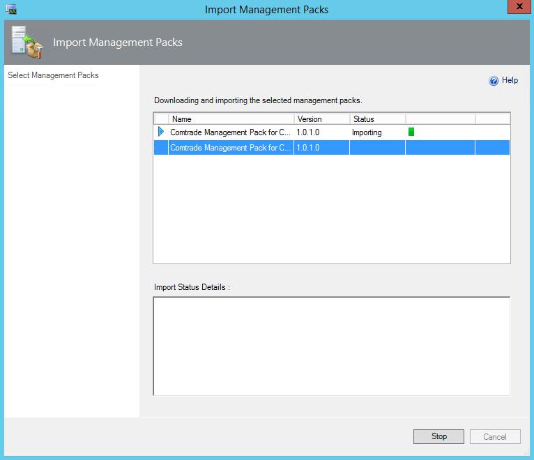 Comtrade Citrix License Server Import Inprogress
