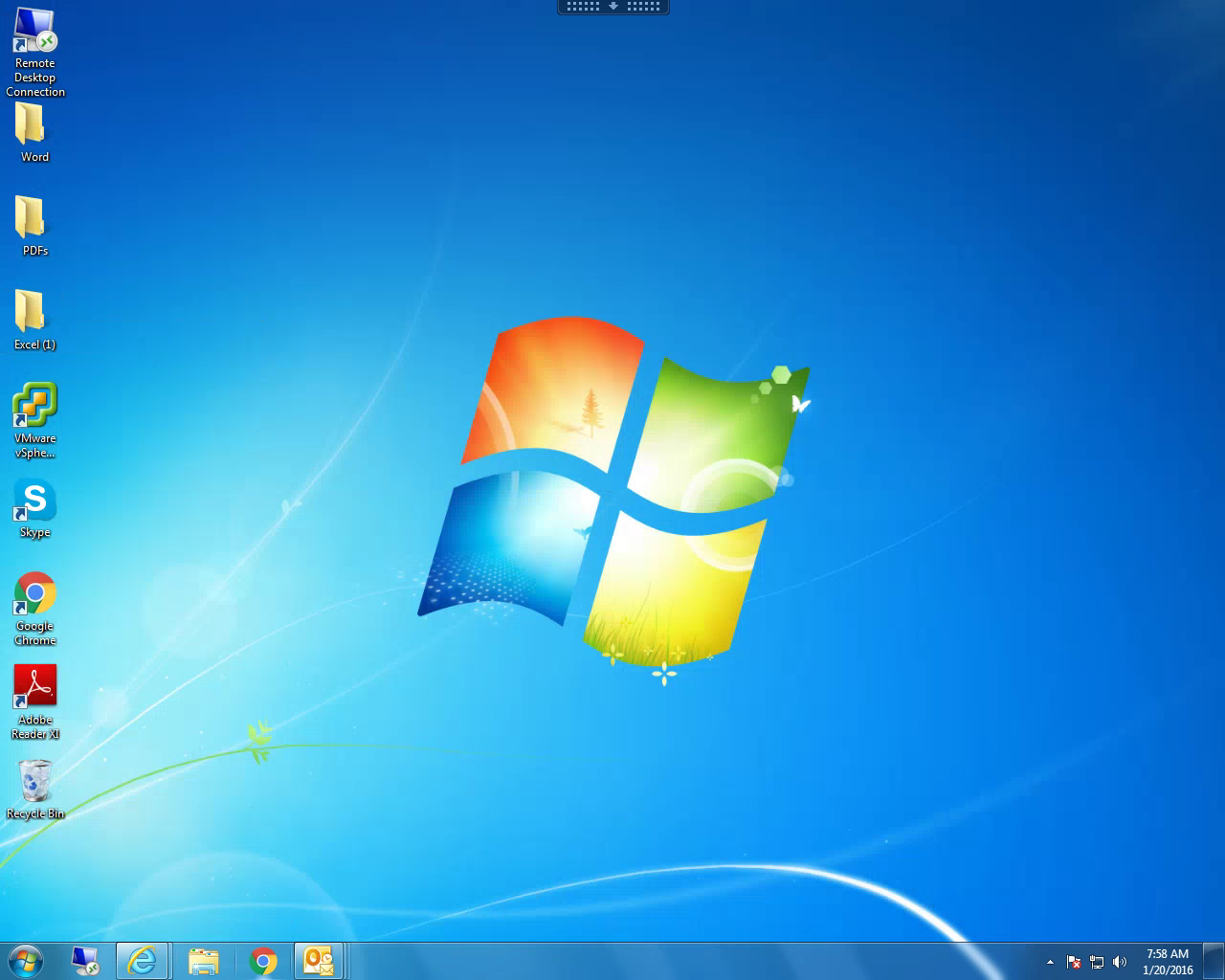 Full Screen Desktop Viewer