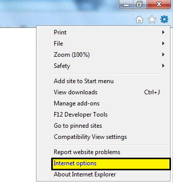 IE 11 Compatibility Settings