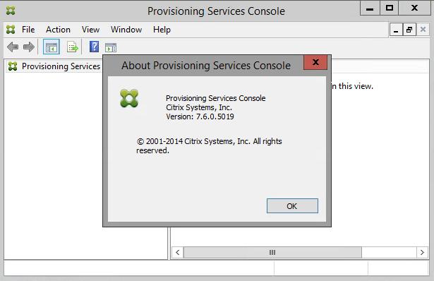 PVS Console 7.6.0.5019