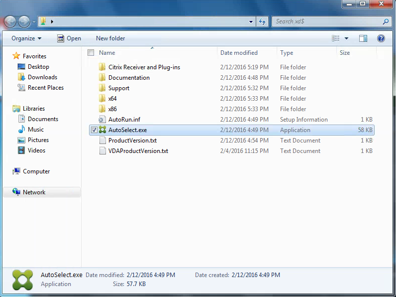 Citrix XenDesktop 7.8 ISO Files