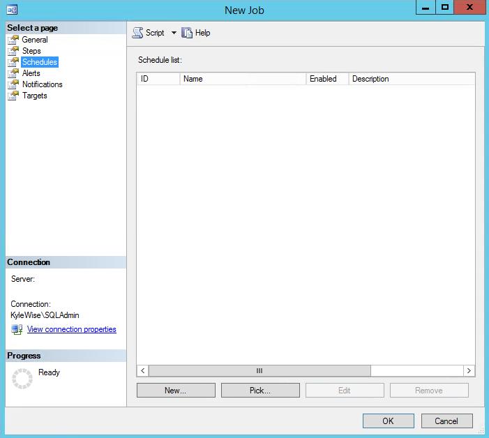 SQL Server Agent Jobs Schedules 1
