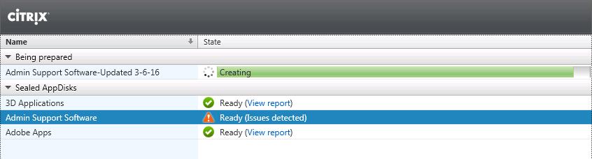 New AppDisk Version Being Prepared