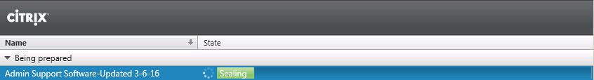 Citrix AppDisk NewV Ready