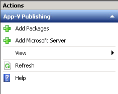 Add MSFT Server App-v publishing xendesktop