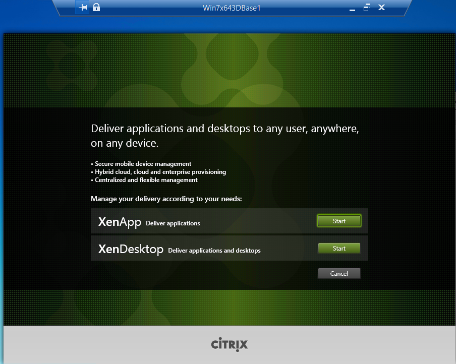 Citrix XenDesktop 7.8 VDA Setup XA or XD