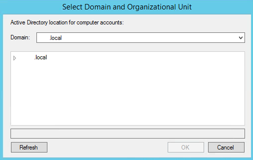 Import Computer Accounts_Select AD_OU