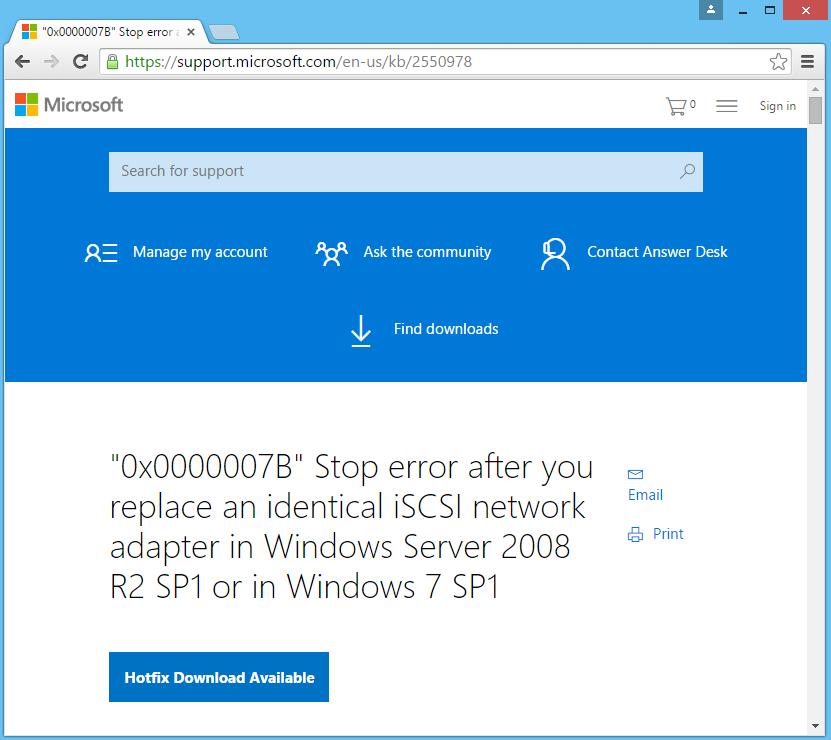 Microsoft KB Download