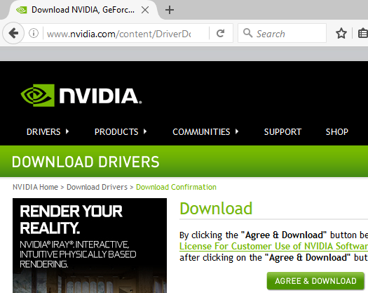NVIDIA Download License Agreement