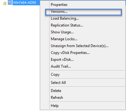 PVS Versions_AppDisk Versions Update