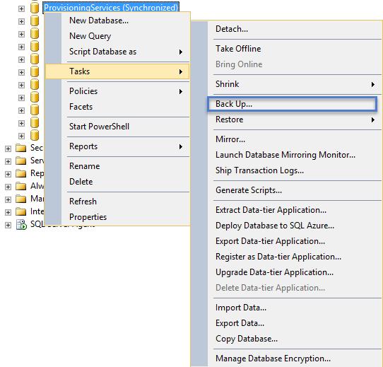 Citrix PVS Database Migration | | Apps, Desktops, and Virtualization