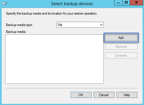 Select Backup Devices SQL PVS DB Move1
