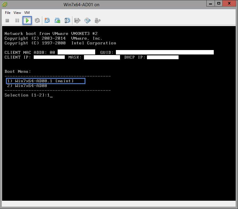 VSphere Client Virtual Machine Console View