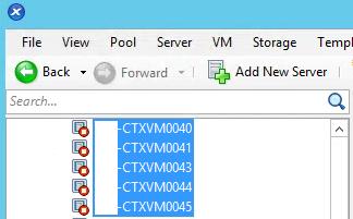 XS VMs Created